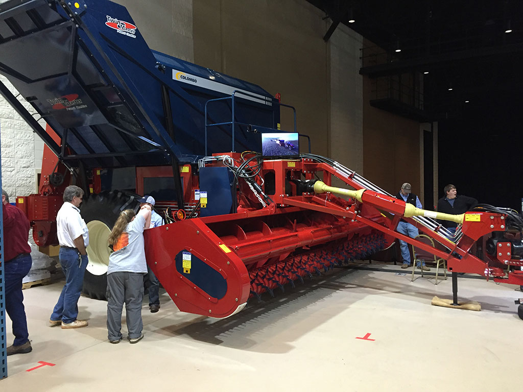 Colombo North America, Inc. Exhibits At 40th Annual Georgia Peanut Farm Show and Conference in Tifton, Georgia